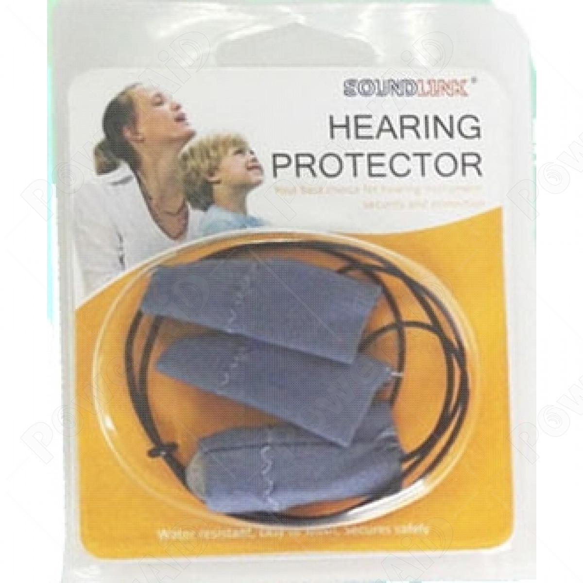 Soundlink - BTE Clip protezione polvere, sudore e anticaduta Azzurro