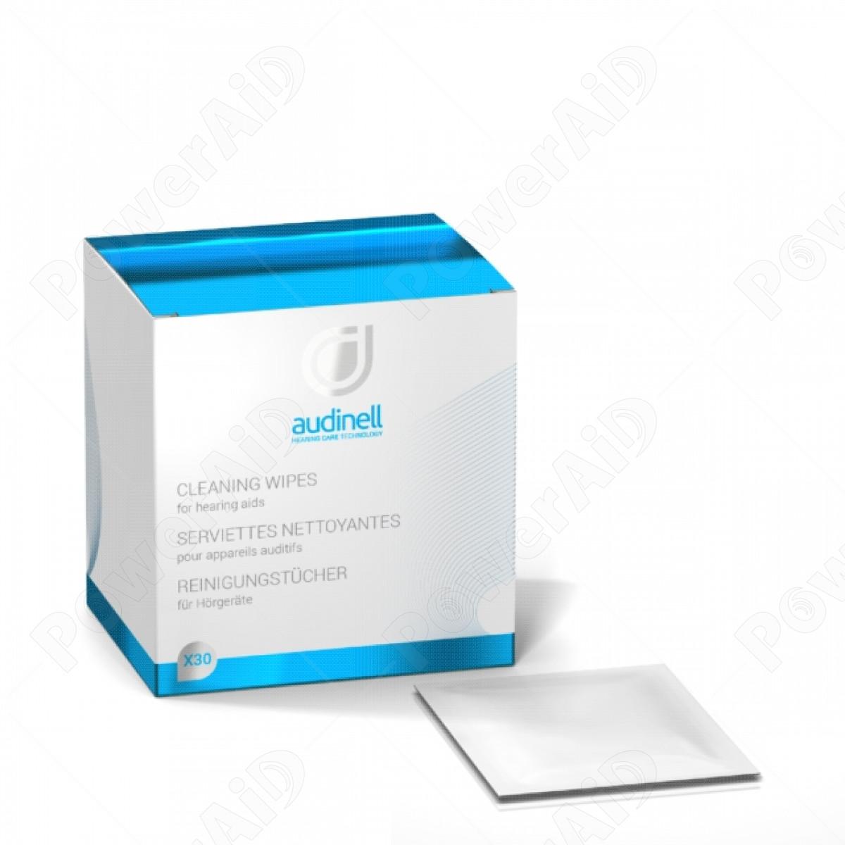 Audinell - 30 Singole salviettine detergenti