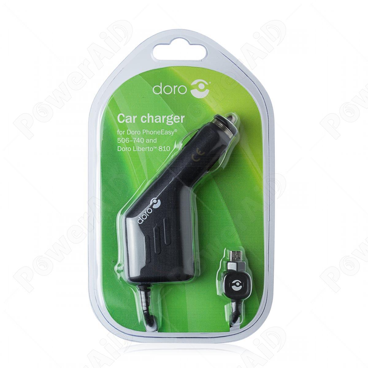 Doro - Alimentatore da Auto per Cellulari e Smartphone