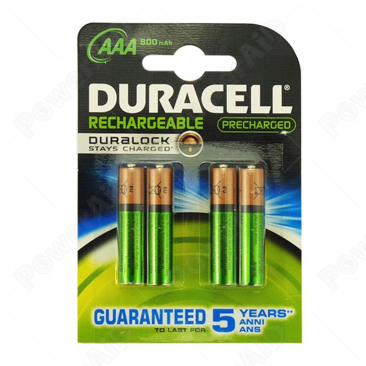 Duracell - 4 Batterie Ministilo AAA ricaricabili