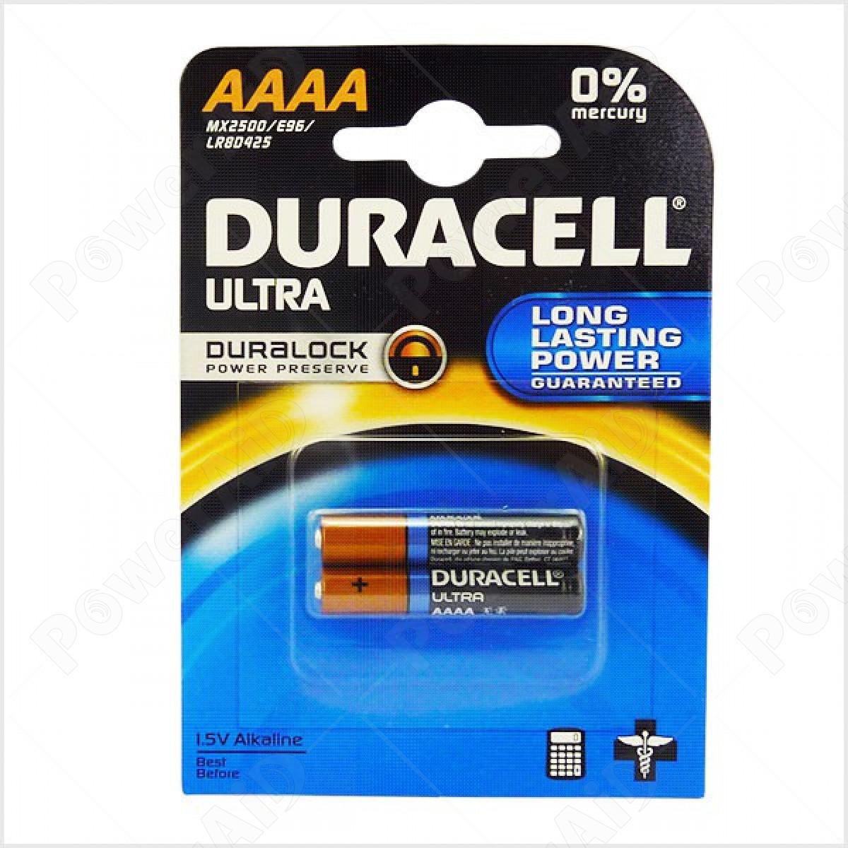 Duracell - Ultra 2 pile Micro Stilo AAAA