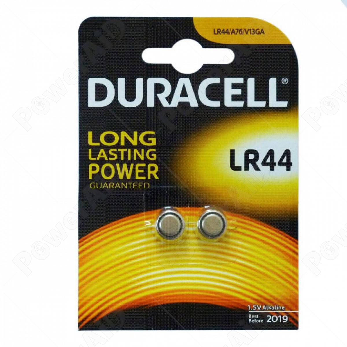 Duracell - LR44 1,5V Blister 2 pile