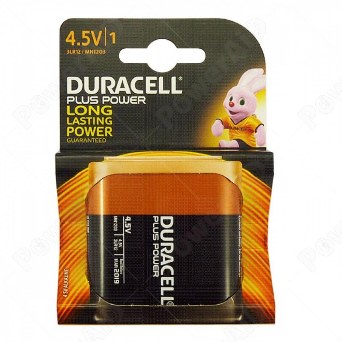 Duracell - Plus Power 1 pila Piatta 4,5V