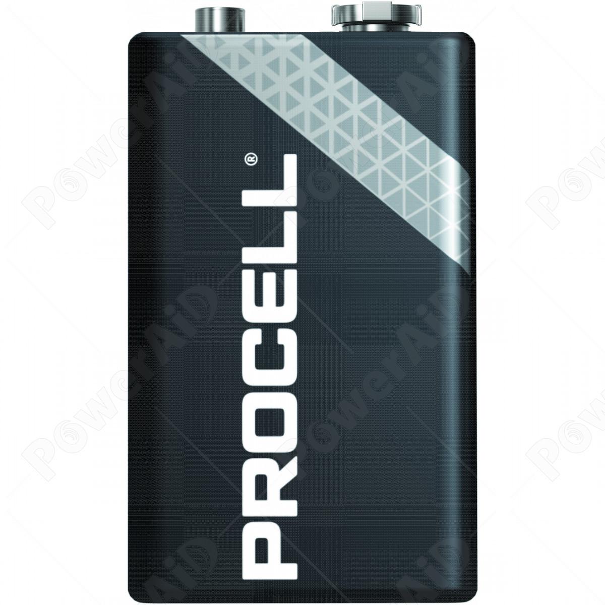 Duracell Procell - Confezione da 10 pile Transistor 9V