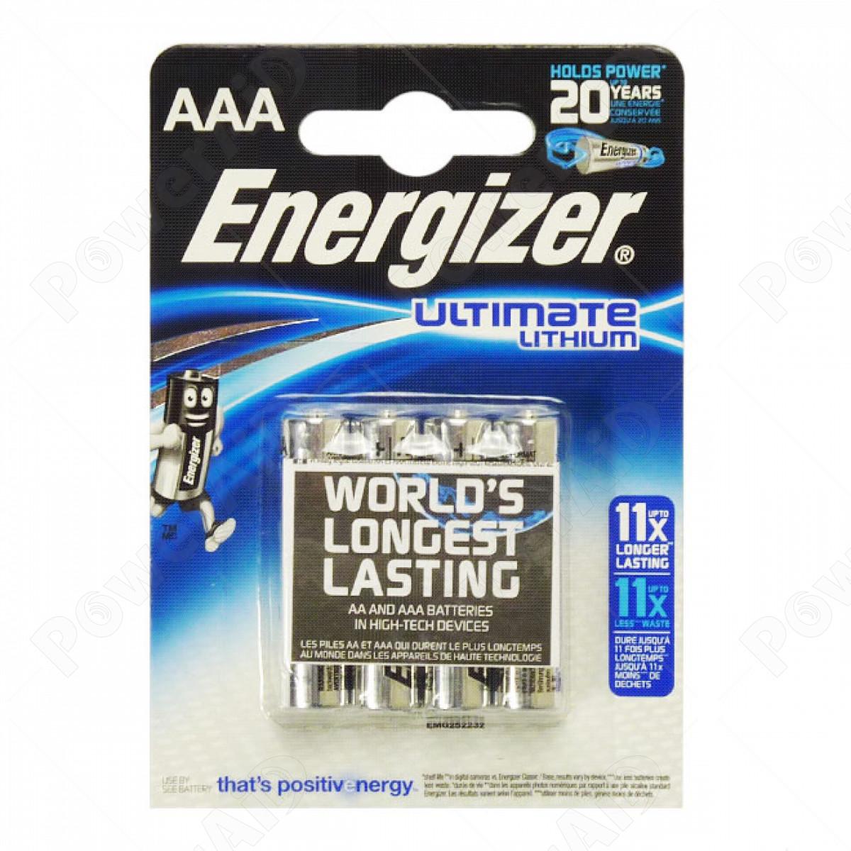 Energizer - Ministilo AAA Ultimate Lithium