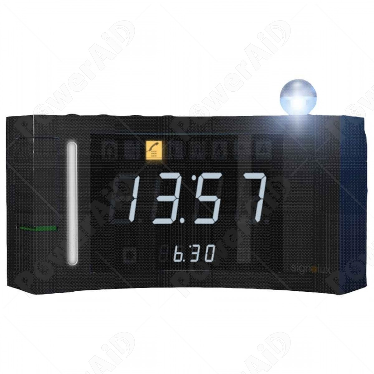 Humantechnik - Sveglia digitale DS-2 con Ricevitore Signolux