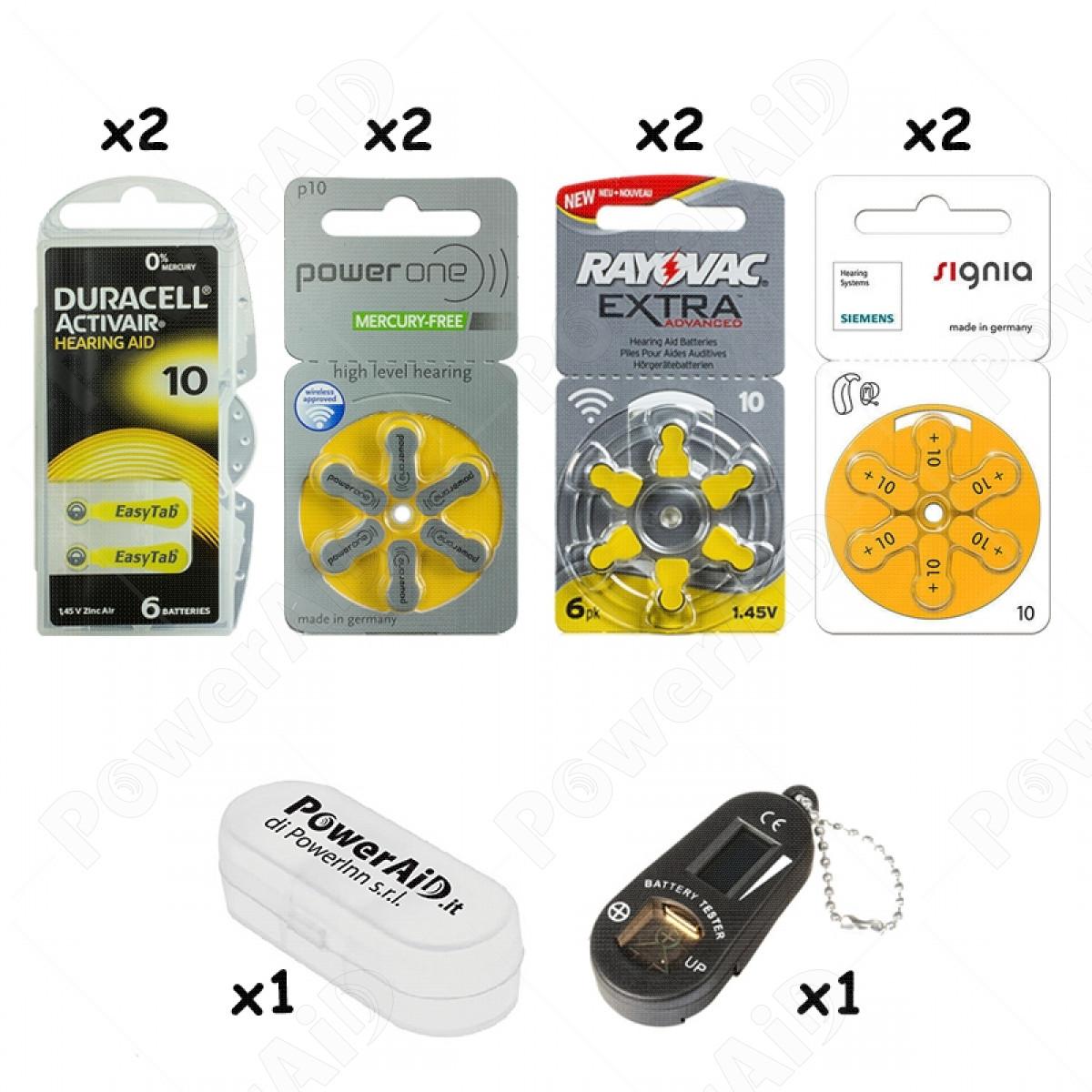 KIT DI PROVA - Misura 10 - Colore giallo