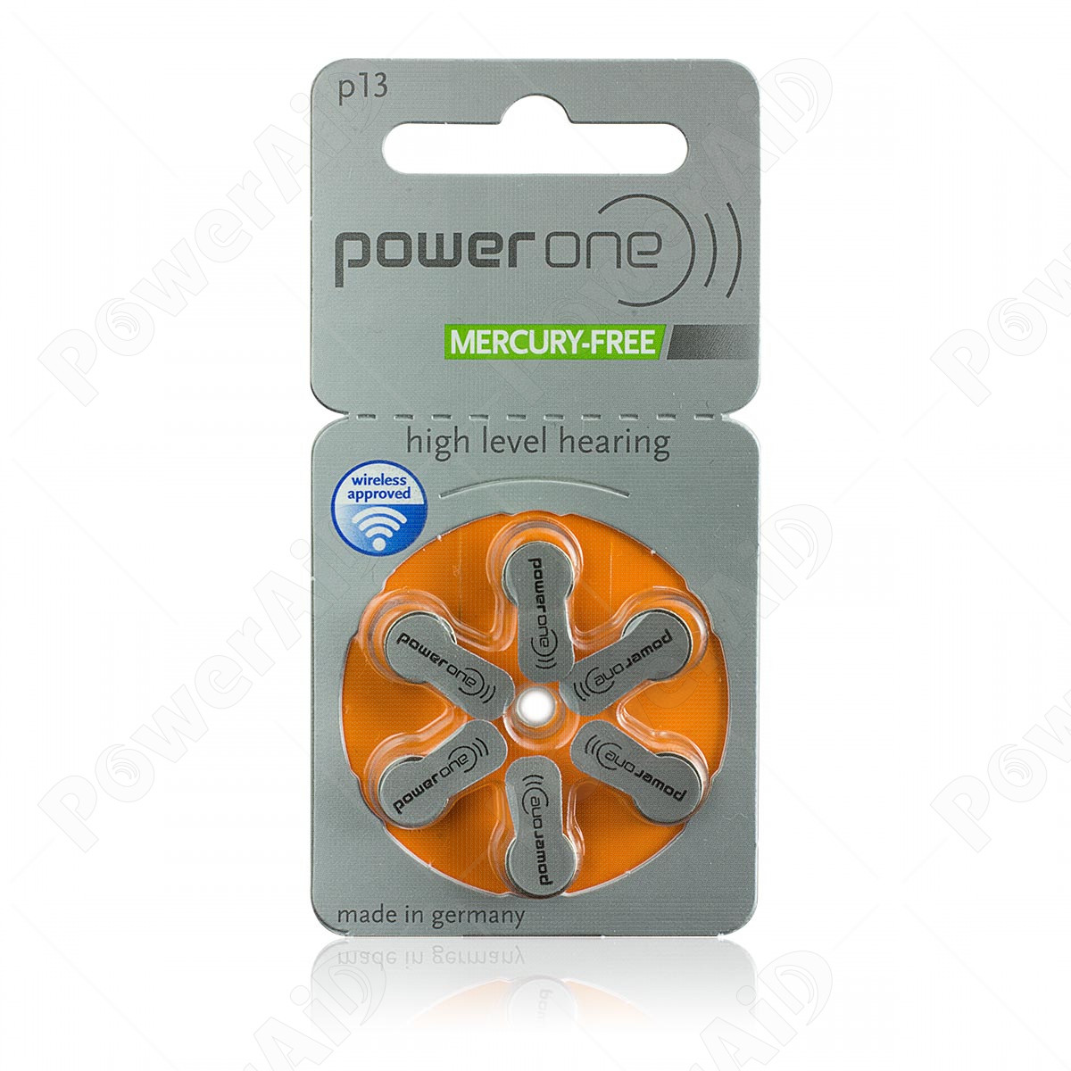 Power One - Blister 6 pile Acustiche 13