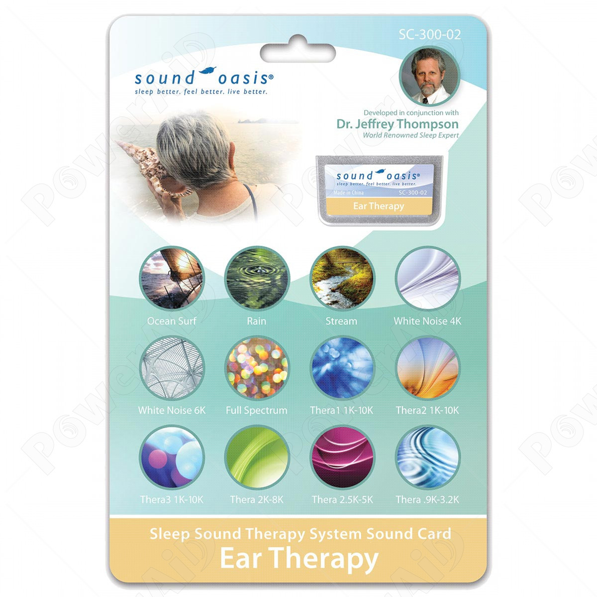 Sound Oasis - Scheda Sonora SC-300-02 Ear Therapy