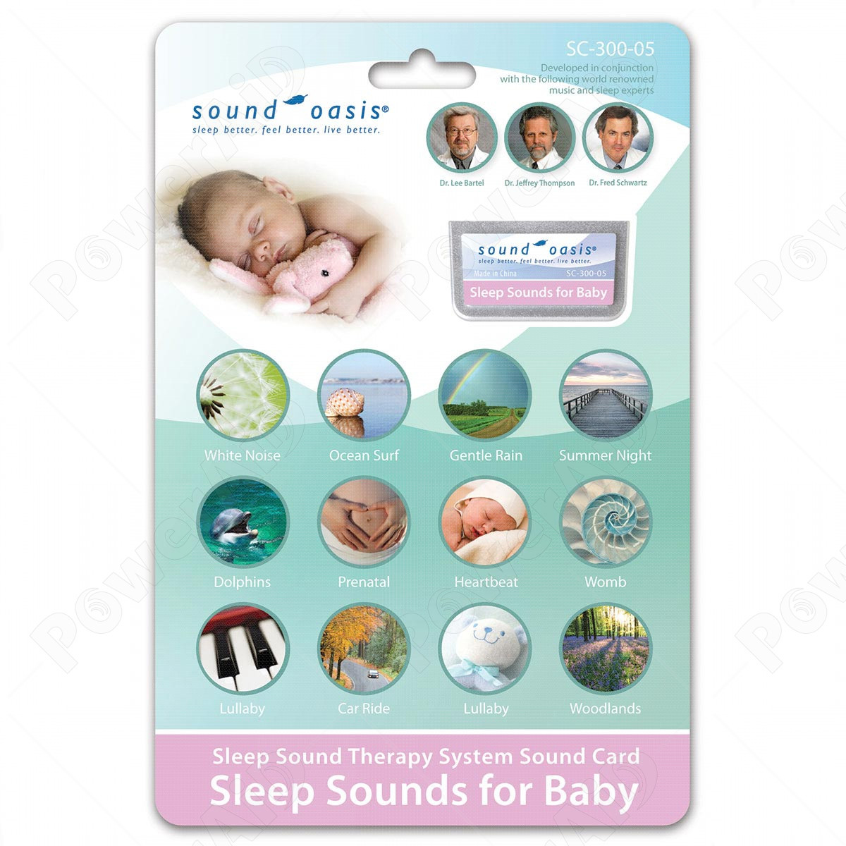 Sound Oasis - Scheda Sonora SC-300-05 Sounds For Baby