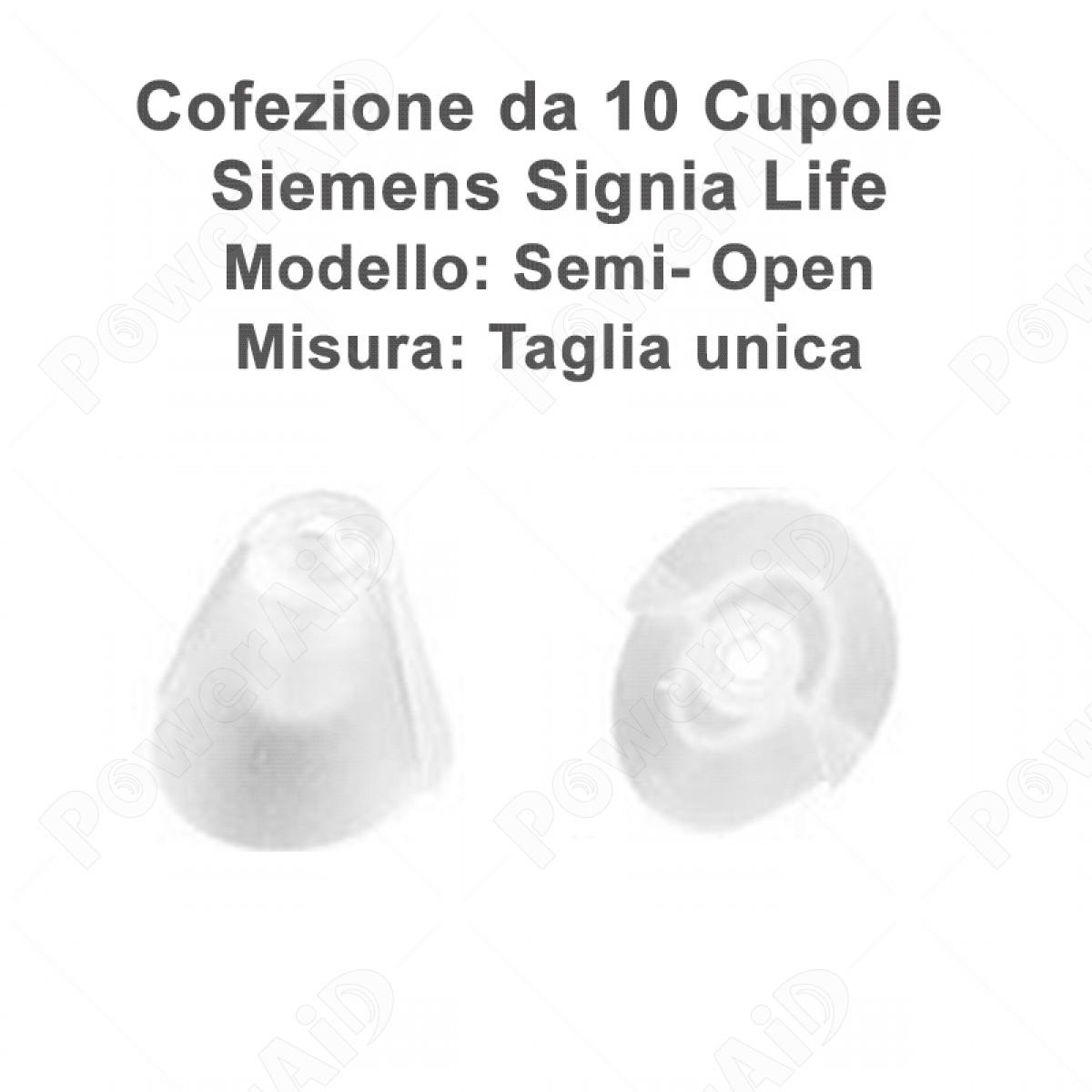Signia - Cupoline  Life Semi Open - 10 pz