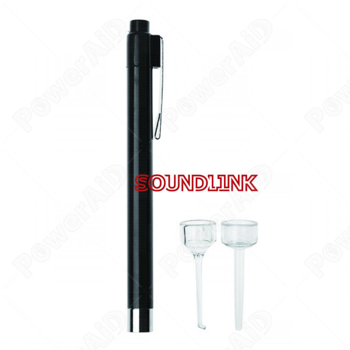 Soundlink - Penna con luce LED per controllo orecchio e bocca