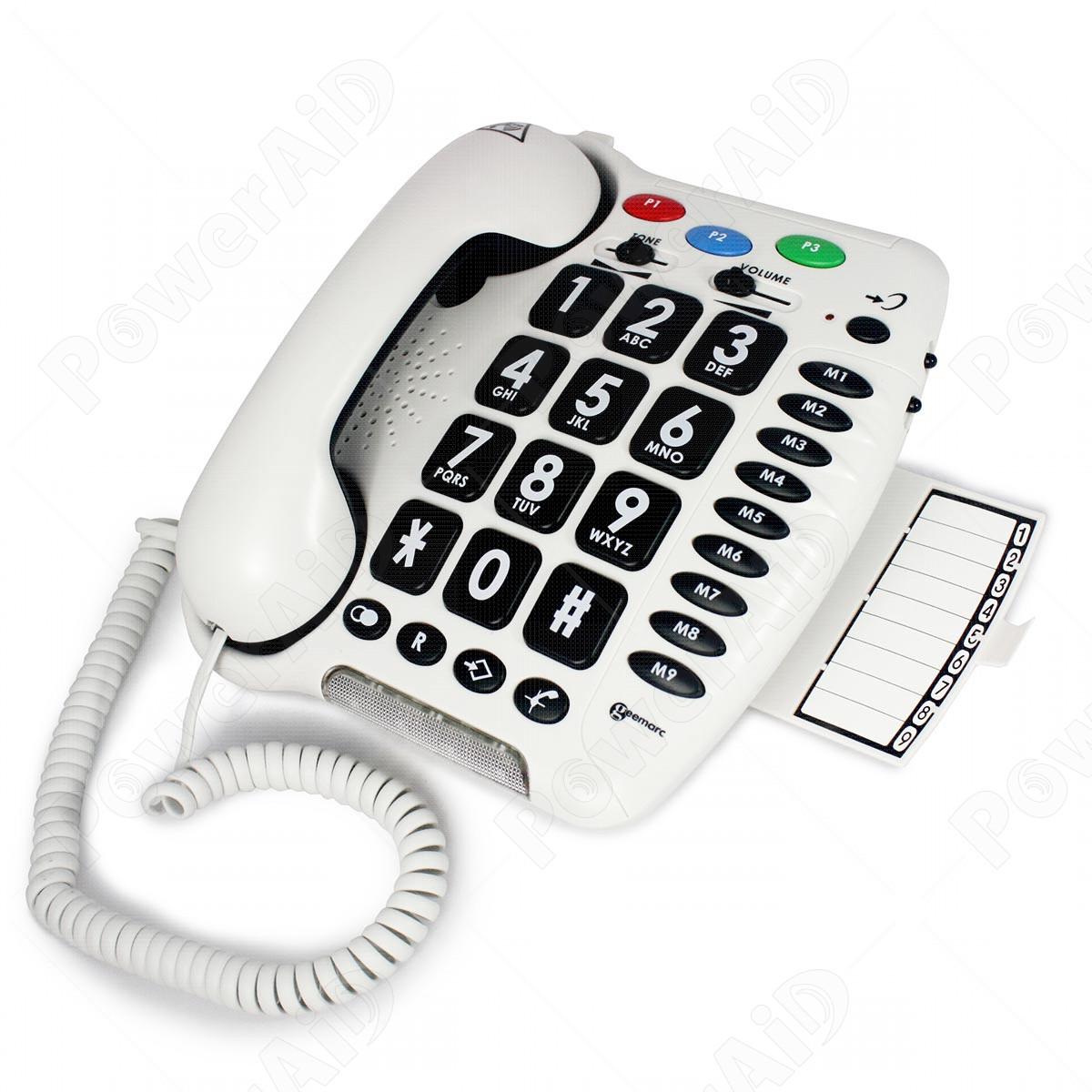 Geemarc - CL100 telefono amplificato
