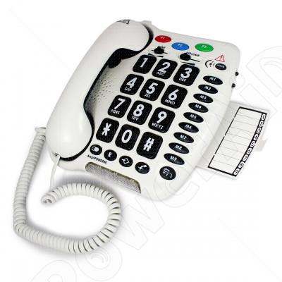 Geemarc - AmpliPOWER 50 Bianco telefono amplificato 5bfa1b4f036a