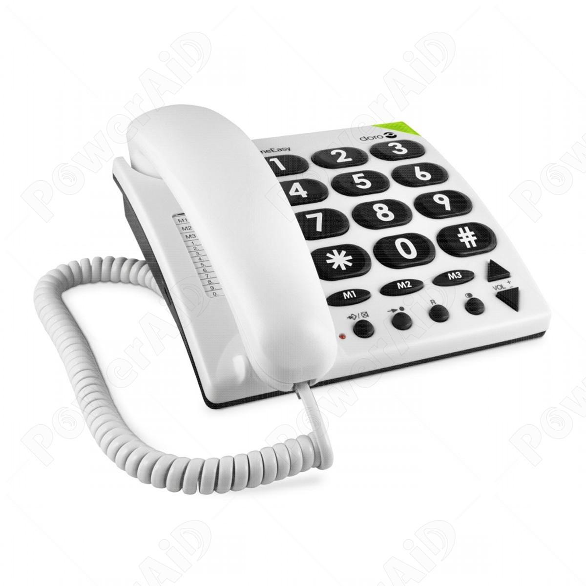 Doro phoneeasy 311c telefono fisso - Telefono fisso design ...