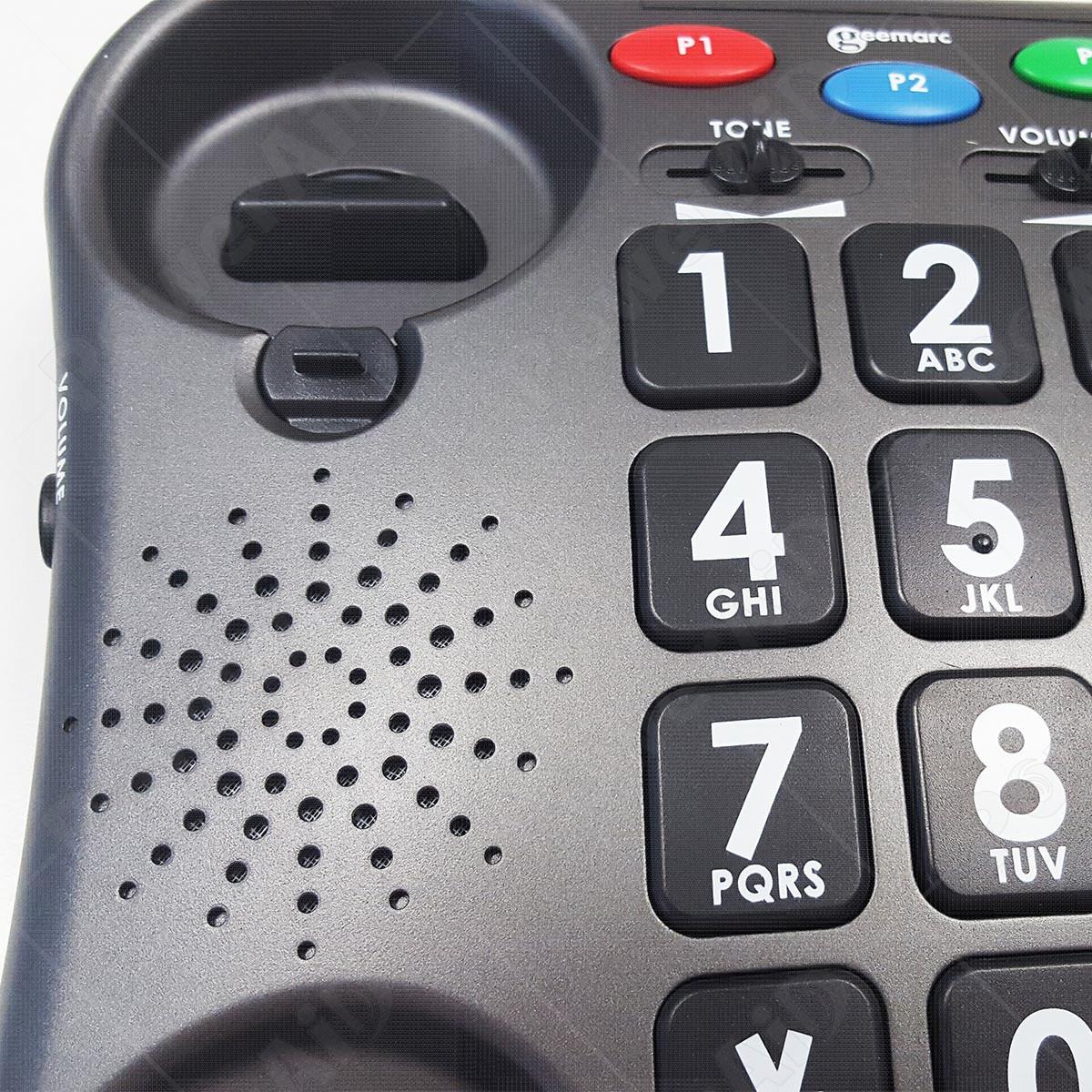 Geemarc - AmpliPOWER 40 Antracite telefono amplificato - Telefoni ... 37eb7ea9affe