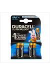 Duracell - Ultra Power 4 pile Mini Stilo AAA