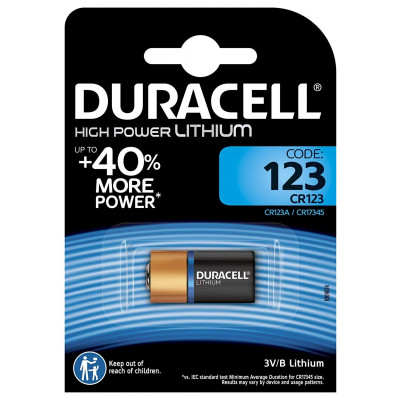 Duracell - 123 3V Blister 1 pila