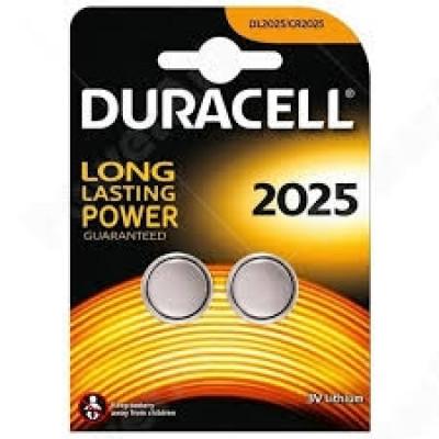 Duracell - CR2025 3V Blister 2 Pile