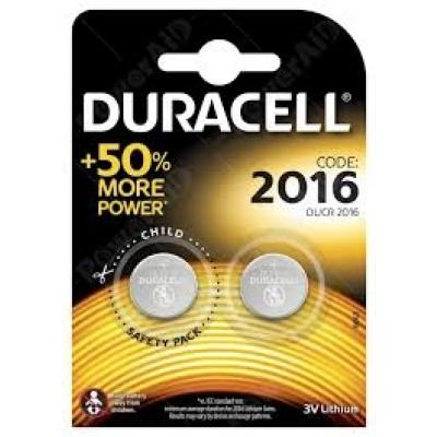 Duracell - CR2016 3V Blister 2 Pile