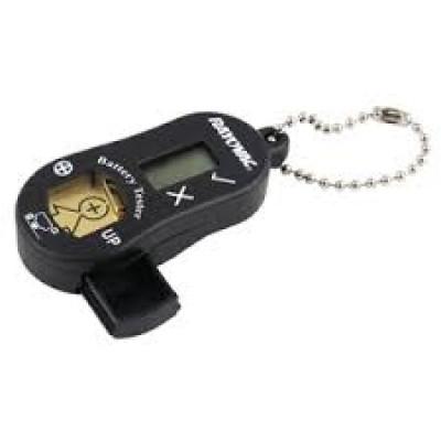 Rayovac - Tester Digitale per pile acustiche Nero