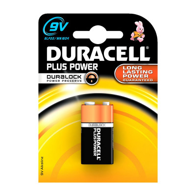 Duracell - Plus Power 1 pila Transistor 9V
