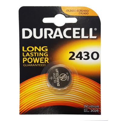 Duracell - CR2430 3V Blister 1 Pila