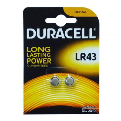 Duracell - LR43 1,5V Blister 2 pile