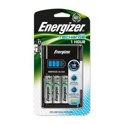 Energizer - Caricabatterie Rapido (1h) con 2 Batterie AA 2300 mAh