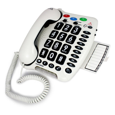 Geemarc - AmpliPOWER 50 Bianco telefono amplificato