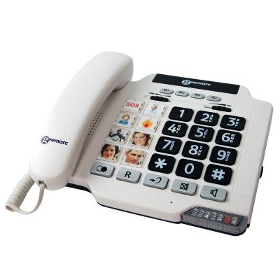 Geemarc - PhotoPHONE 100 telefono con tasti fotografici