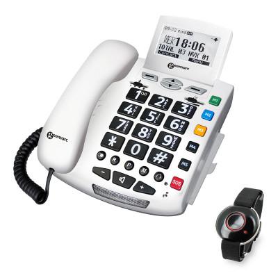Geemarc - Serenities telefono amplificato con SOS
