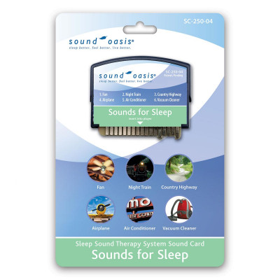 Sound Oasis - Scheda Sonora SC-250-04 Sounds for Sleep