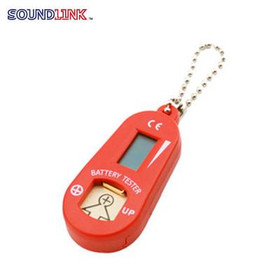 Soundlink - Tester Digitale per pile acustiche Rosso