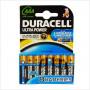 Duracell - Ultra Power 8 pile Mini Stilo AAA
