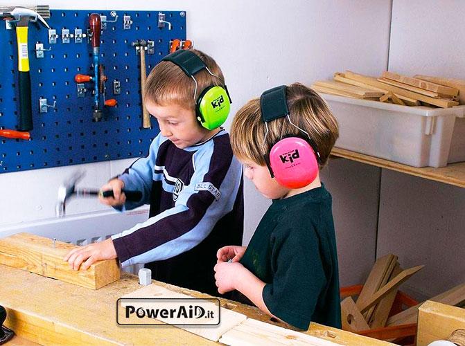 3m cuffie antirumore bambini peltor kid verde for Migliori cuffie antirumore per bambini